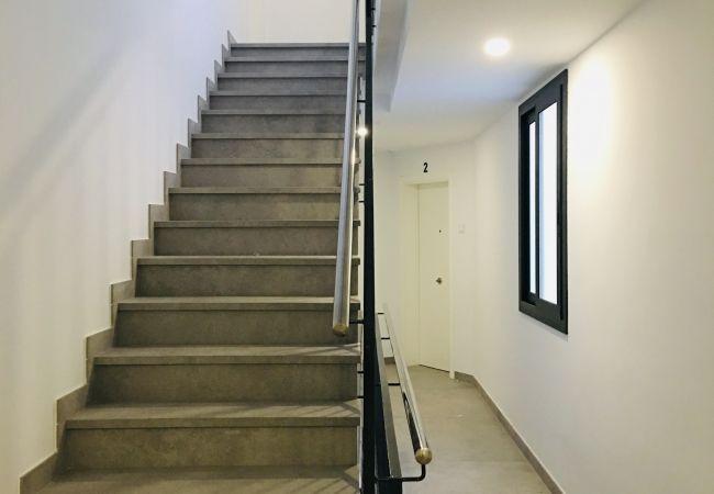 Apartament en Blanes - Apartament amb balcó - Aiguaneu El Celler